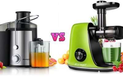 Masticating vs Centrifugal Juicers, which is best for me?