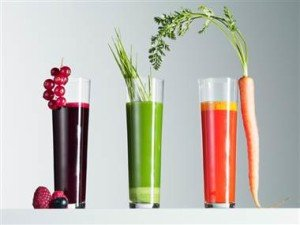 Cranberry juice fasting