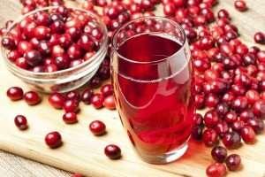 making cranberry juice