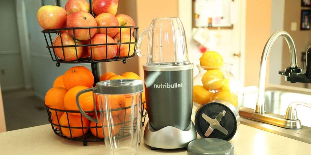 Nutribullet in the kitchen